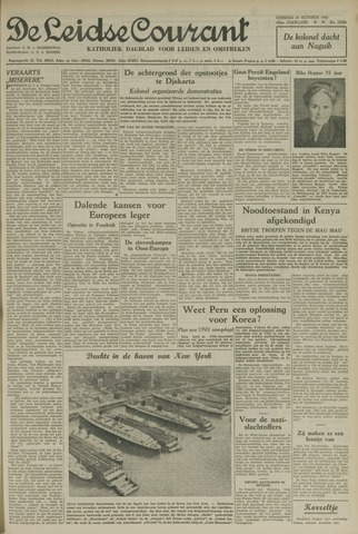 Leidse Courant 1952-10-21