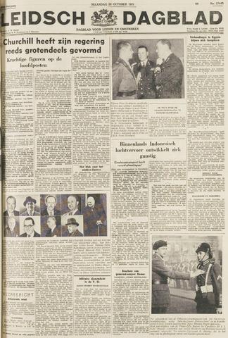 Leidsch Dagblad 1951-10-29