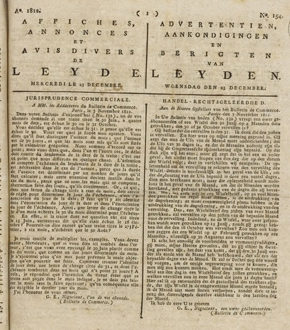 Leydse Courant 1812-12-23