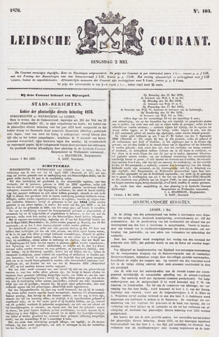 Leydse Courant 1876-05-02