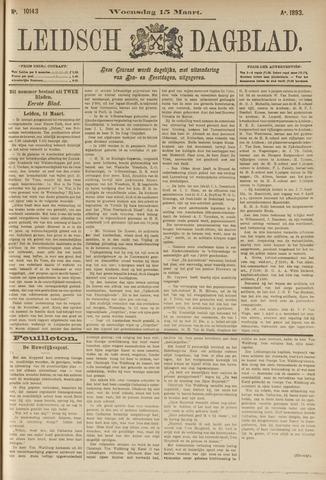 Leidsch Dagblad 1893-03-15