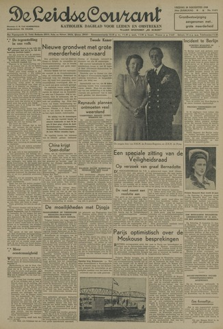 Leidse Courant 1948-08-20