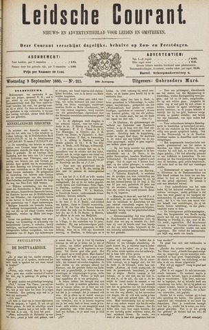Leydse Courant 1885-09-09