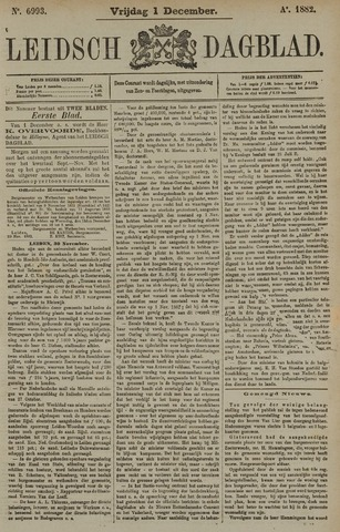 Leidsch Dagblad 1882-12-01