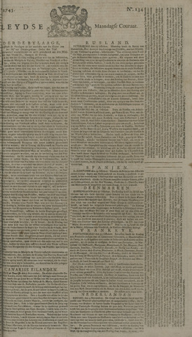 Leydse Courant 1745-11-08