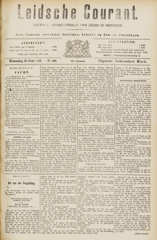 Leydse Courant 1889-06-26