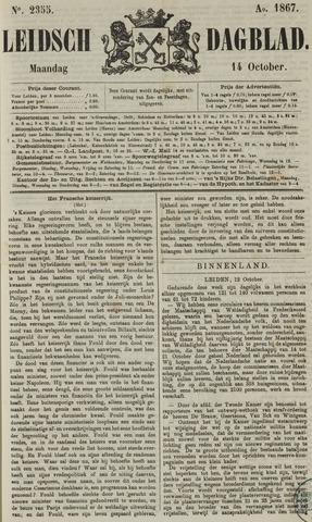 Leidsch Dagblad 1867-10-14