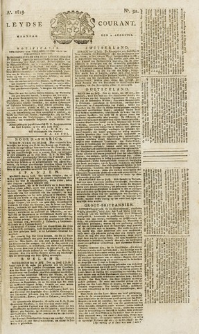 Leydse Courant 1819-08-02