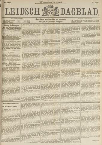 Leidsch Dagblad 1894-04-11