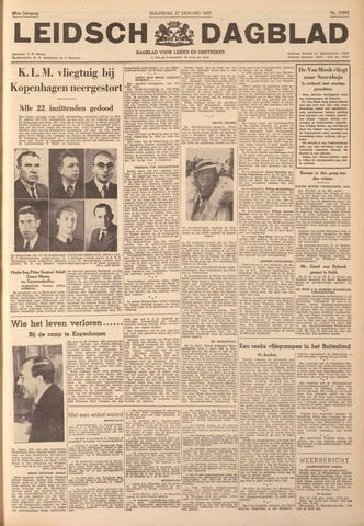 Leidsch Dagblad 1947-01-27