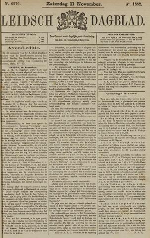 Leidsch Dagblad 1882-11-11