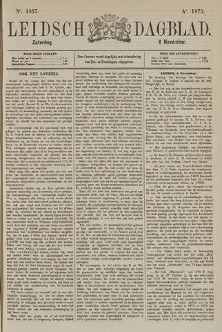Leidsch Dagblad 1875-11-06