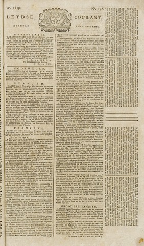 Leydse Courant 1819-12-06
