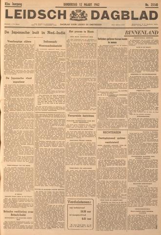 Leidsch Dagblad 1942-03-12