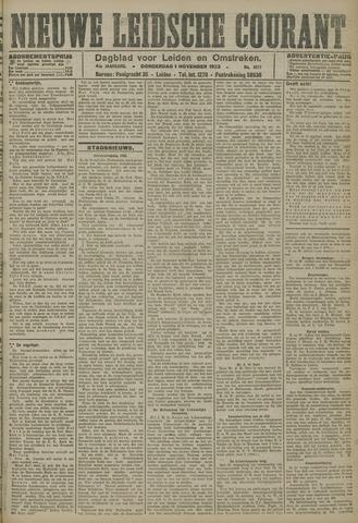 Nieuwe Leidsche Courant 1923-11-01