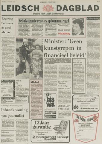 Leidsch Dagblad 1980-03-14
