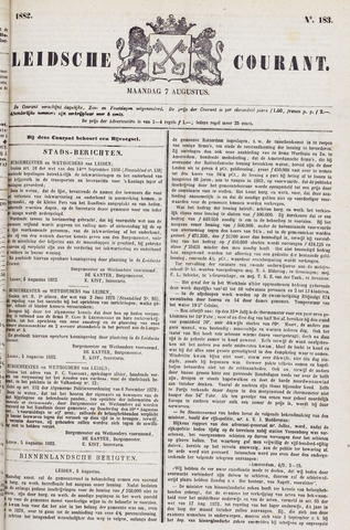 Leydse Courant 1882-08-07