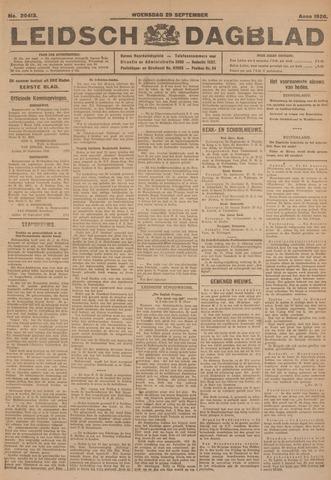 Leidsch Dagblad 1926-09-29