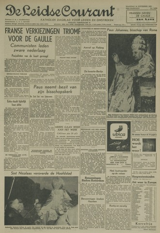 Leidse Courant 1958-11-24