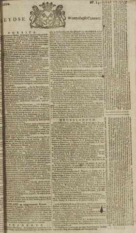 Leydse Courant 1770-11-21