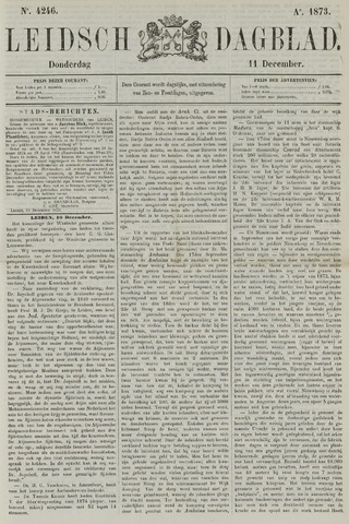 Leidsch Dagblad 1873-12-11