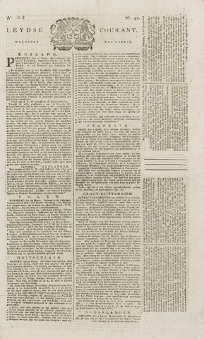 Leydse Courant 1818-04-08