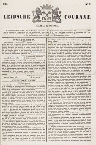 Leydse Courant 1875-01-12