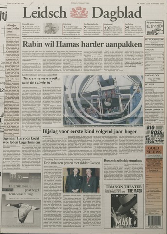 Leidsch Dagblad 1994-10-20