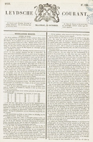 Leydse Courant 1855-10-22