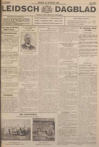 Leidsch Dagblad 1930-08-29