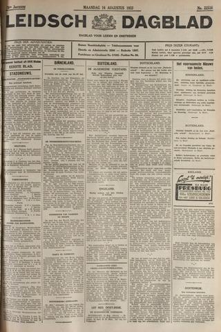 Leidsch Dagblad 1933-08-14