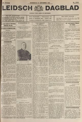 Leidsch Dagblad 1933-09-21