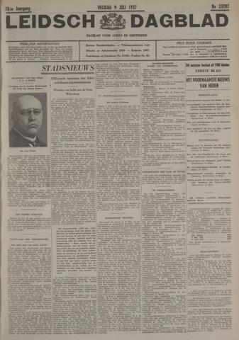Leidsch Dagblad 1937-07-09