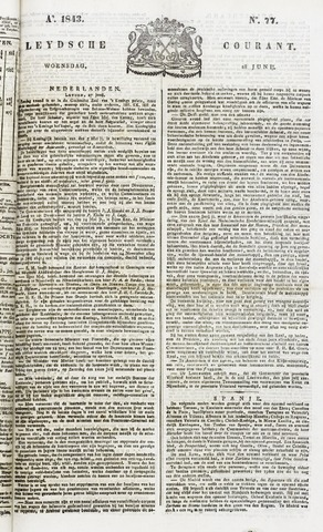 Leydse Courant 1843-06-28