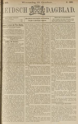 Leidsch Dagblad 1885-10-21