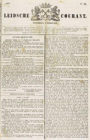 Leydse Courant 1871-02-09
