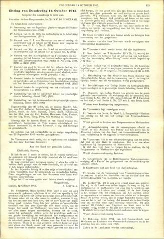 Handelingen van de Raad 1915-10-14