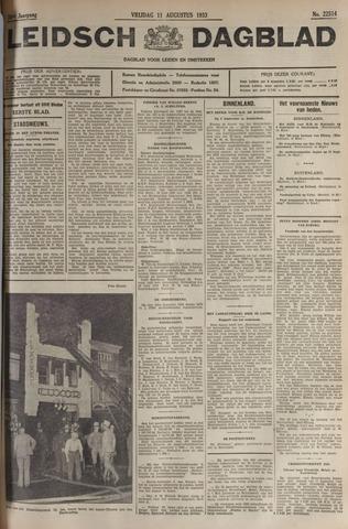Leidsch Dagblad 1933-08-11