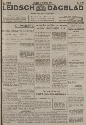 Leidsch Dagblad 1938-11-05