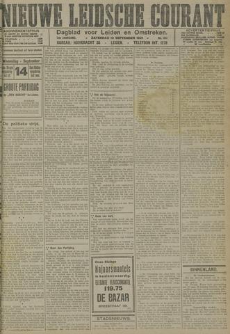 Nieuwe Leidsche Courant 1921-09-10