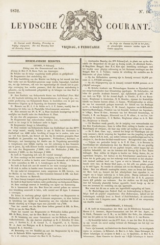 Leydse Courant 1852-02-06