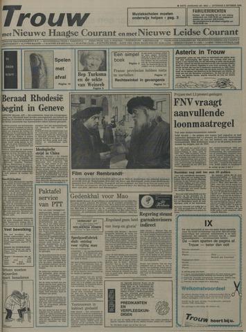 Nieuwe Leidsche Courant 1976-10-09