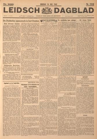 Leidsch Dagblad 1942-07-14