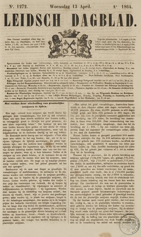 Leidsch Dagblad 1864-04-13