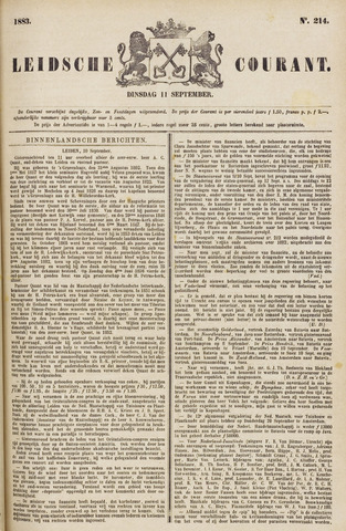 Leydse Courant 1883-09-11