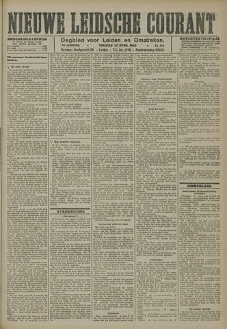Nieuwe Leidsche Courant 1923-04-27