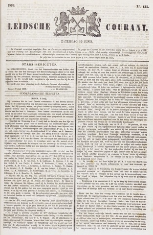 Leydse Courant 1876-06-10