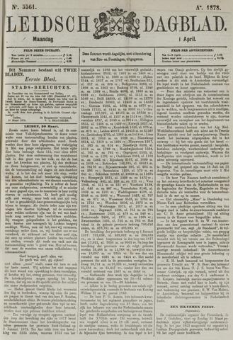 Leidsch Dagblad 1878-04-01