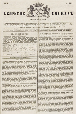 Leydse Courant 1873-07-03