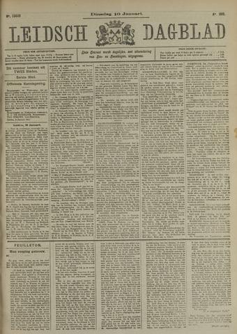Leidsch Dagblad 1911-01-10
